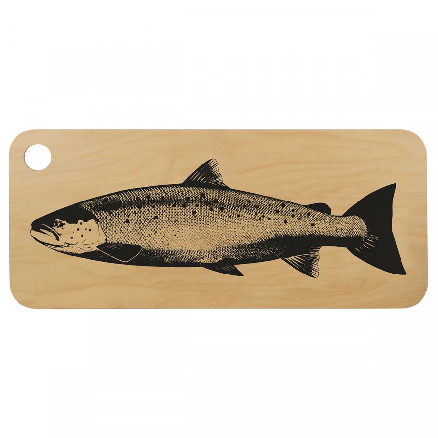 Muurla Salmon Chop & Serve Board