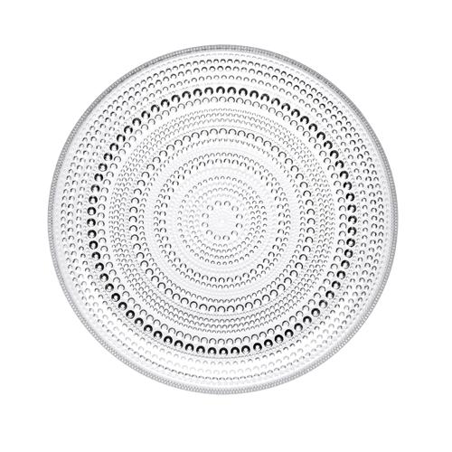 iittala Kastehelmi Clear Dinner Plate