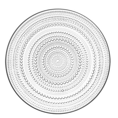 iittala Kastehelmi Clear Dewdrop Serving Plate