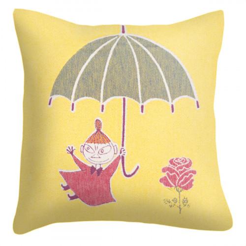 Ekelund Moomin Little My Umbrella Throw Pillow