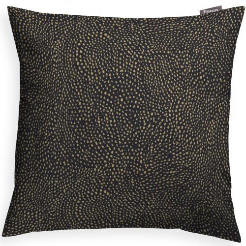 Finlayson Kurupuro Black / Gold Throw Pillow