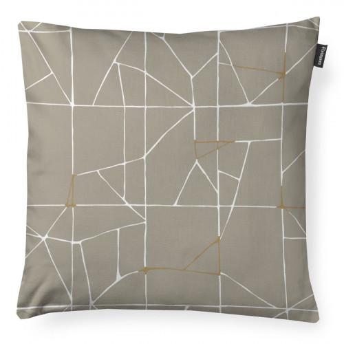Finlayson Loisto Beige / White / Gold Throw Pillow