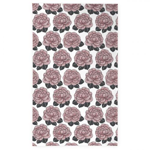 Finlayson Sylvi White / Rose Tablecloth