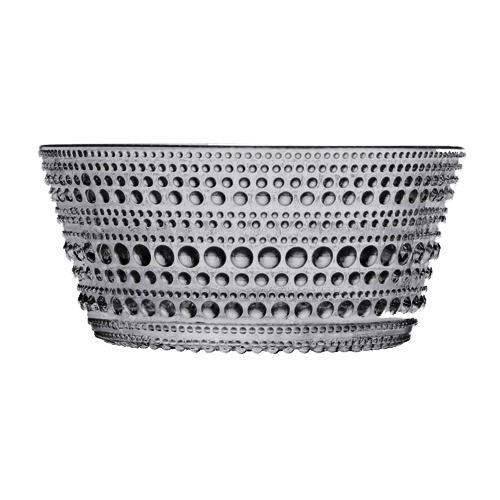 Iittala Kastehelmi Grey Dessert Bowl
