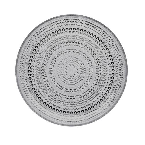 Iittala Kastehelmi Grey Dinner Plate