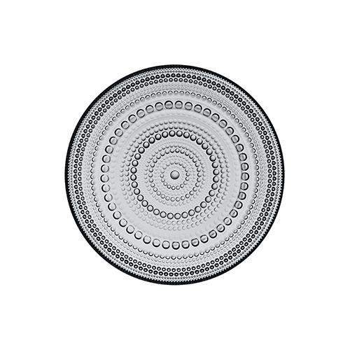 Iittala Kastehelmi Grey Salad Plate