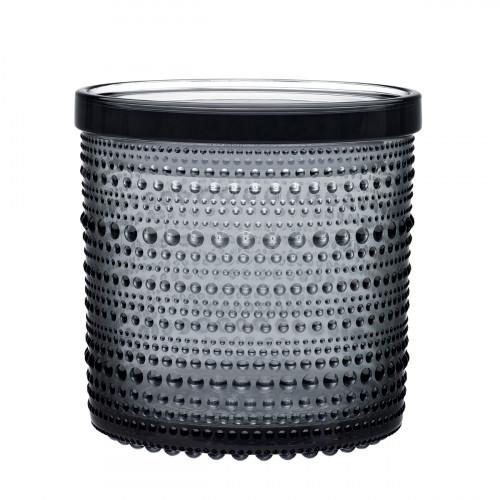iittala Kastehelmi Grey Large Jar