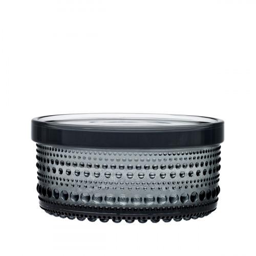 iittala Kastehelmi Grey Small Jar