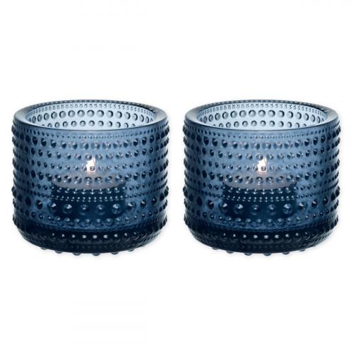 iittala Kastehelmi Rain Candleholder - Set of 2