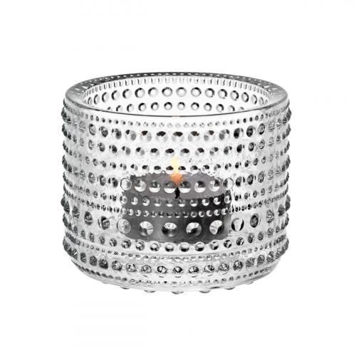 iittala Kastehelmi Clear Candle Holder