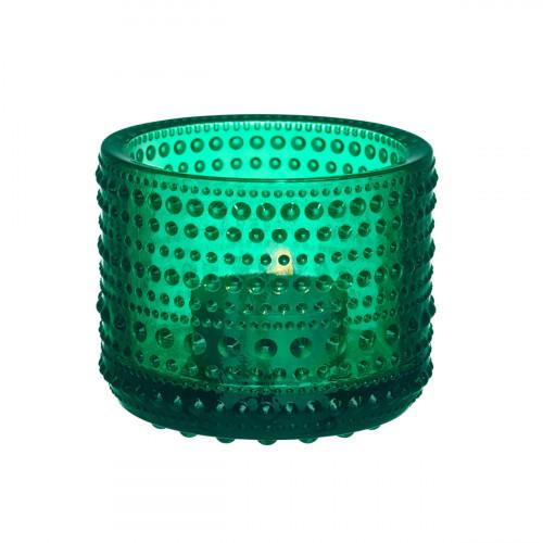 iittala Kastehelmi Emerald Candle Holder