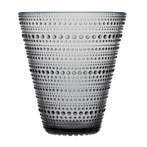 iittala Kastehelmi Grey Vase