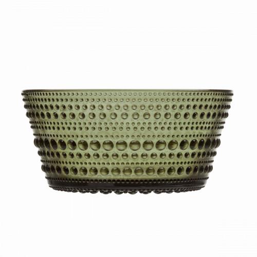 iittala Kastehelmi Moss Green Dessert Bowl