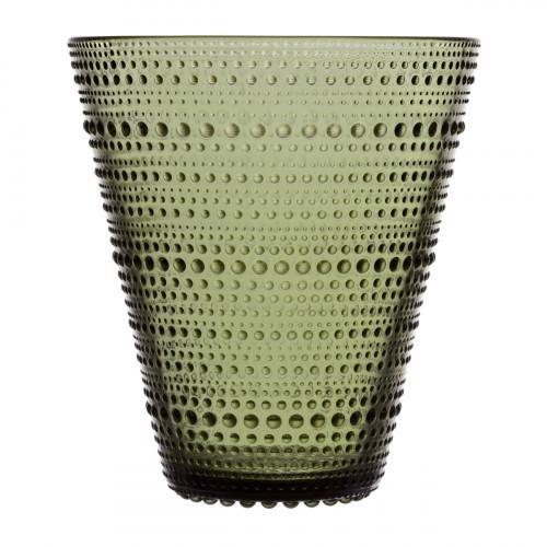iittala Kastehelmi Moss Green Vase