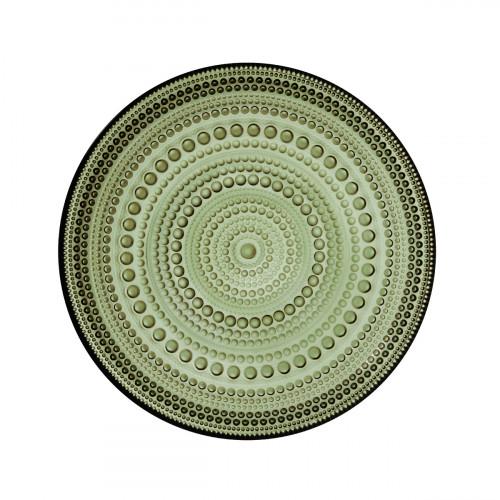 iittala Kastehelmi Moss Green Salad Plate