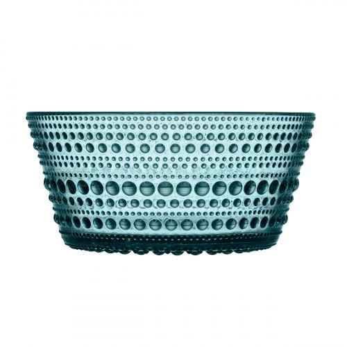 iittala Kastehelmi Sea Blue Dessert Bowl