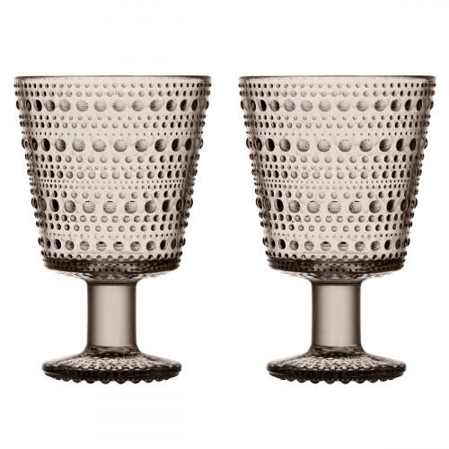 iittala Kastehelmi Linen Universal Glass - Set of 2