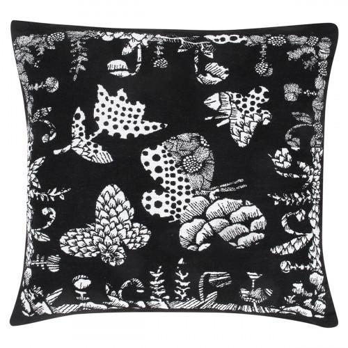 Lapuan Kankurit Aamos Black Throw Pillow