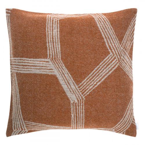 Lapuan Kankurit Himmeli Terracotta Throw Pillow