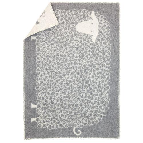 Lapuan Kankurit Kili Grey Wool Throw