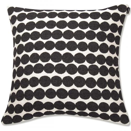 Marimekko Rasymatto Black / White Large Throw Pillow