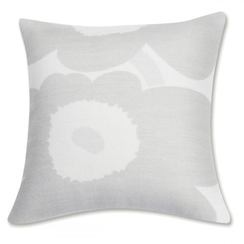 Marimekko Unikko Ivory / Grey Throw Pillow