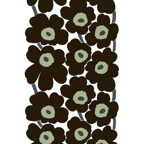 Marimekko Unikko Black / White Cotton Fabric