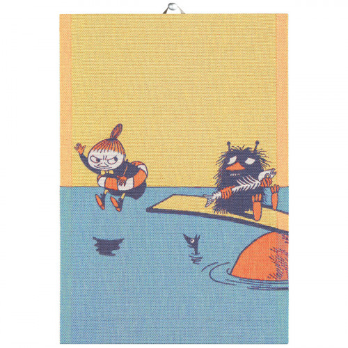 "Ekelund Moomin My & Stinky ""Save the Baltic Sea"" Tea Towel"