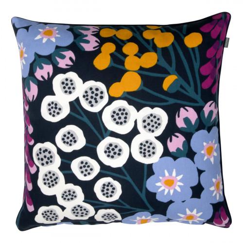 Pentik Hiirenvirna Navy / Multi Throw Pillow