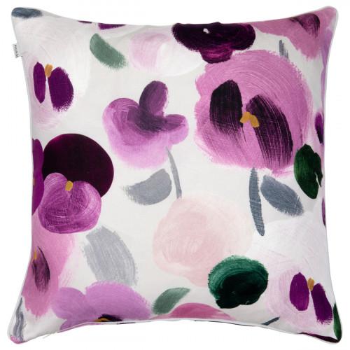 Pentik Orvokki Pink / Multi Throw Pillow