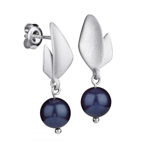 FinnFeelings Blueberry Silver Earrings