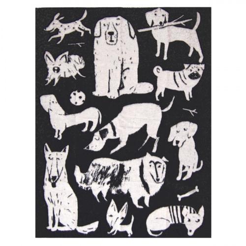 Lapuan Kankurit Koirapuisto Black Wool Blanket