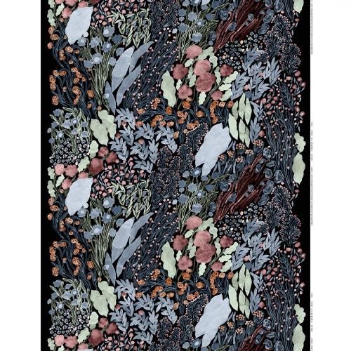 Marimekko Louhi Black / Multi Fabric