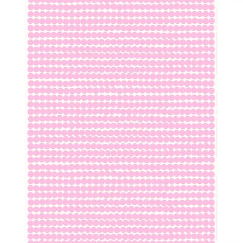 Marimekko Rasymatto White / Pink Acrylic-coated Cotton Fabric