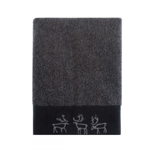 Pentik Saaga Dark Grey Bath Towel