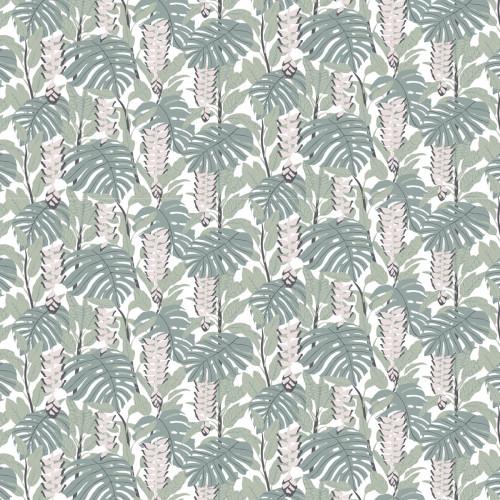 Finlayson Bunaken Green / Pink Fabric