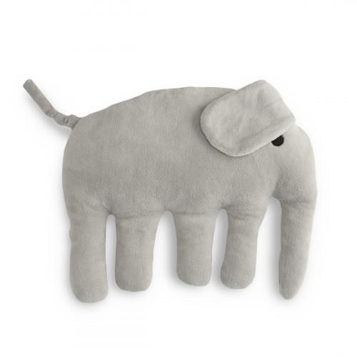 Finlayson Elefantti Grey Plush Pillow