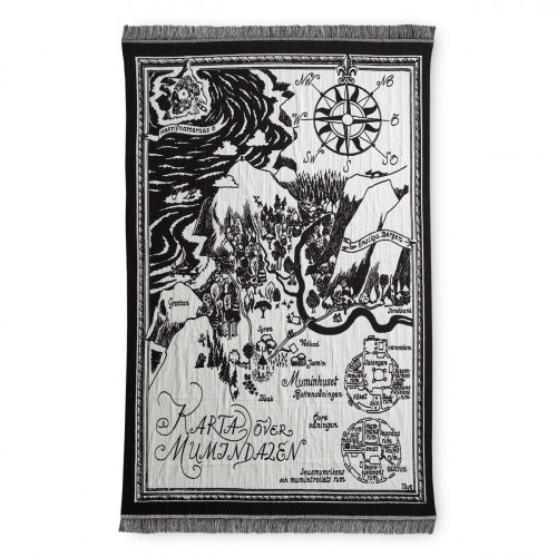 Finlayson Moomin Map Reversible Blanket
