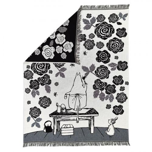 Finlayson Moomin Rose Garden Blanket