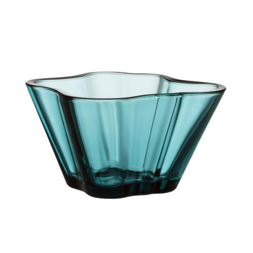 "iittala Aalto Sea Blue Bowl - 3"""