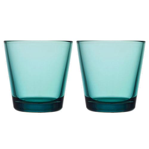 iittala Kartio Sea Blue Medium Tumbler - Set of 2