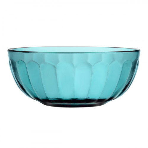 iittala Raami Sea Blue Glass Bowl