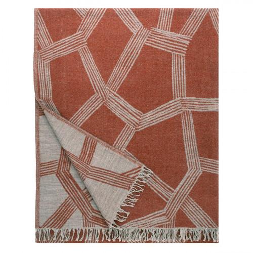 Lapuan Kankurit Himmeli Terracotta Blanket