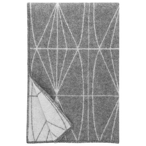 Lapuan Kankurit Kehrä Grey Wool Blanket