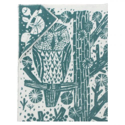 Lapuan Kankurit Metsikko Pine Green Blanket