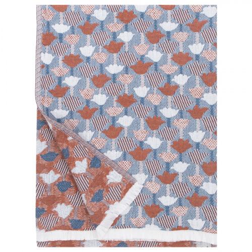Lapuan Kankurit Tulppaani Blue / Cinnamon Blanket