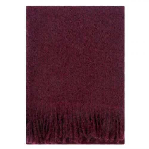 Lapuan Kankurit Saaga Uni Bordeaux Mohair Blanket