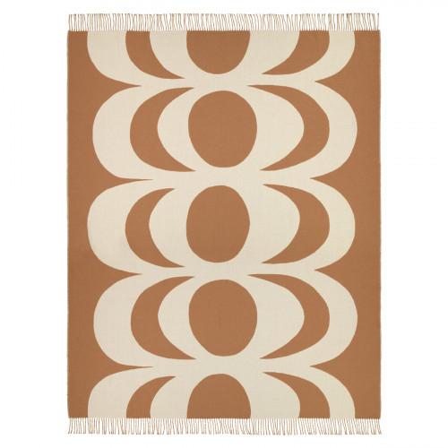 Marimekko Kaivo Cream / Beige Blanket