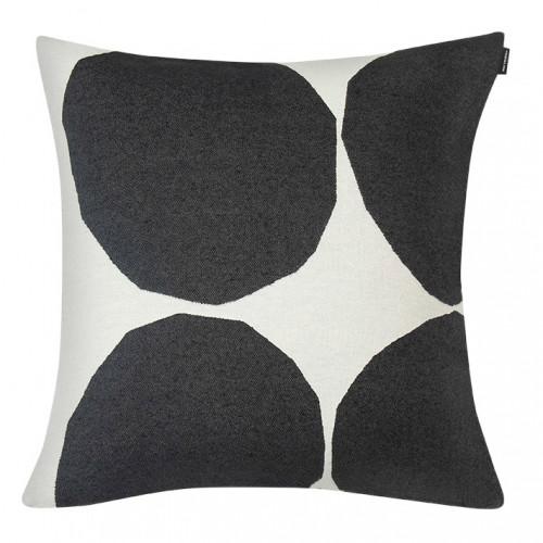 Marimekko Kivet Ivory / Black Large Throw Pillow