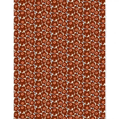 Marimekko Mini Unikko Brown / Beige / Navy Fabric